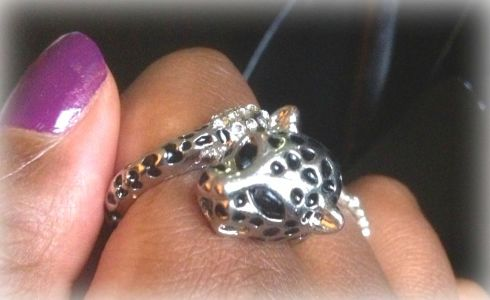 Cheetah Ring View #2