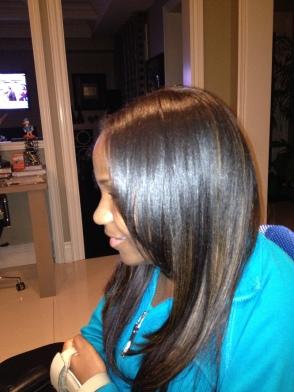 Hair Highlights!